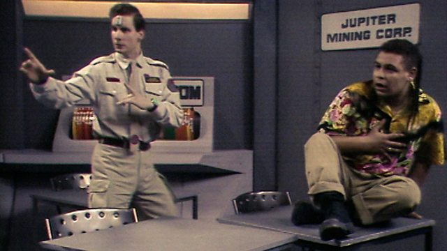 Rimmer being uncharacteristically brave