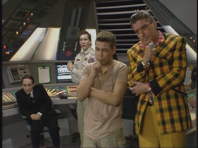 Full script for Red Dwarf Confidence and Paranoia