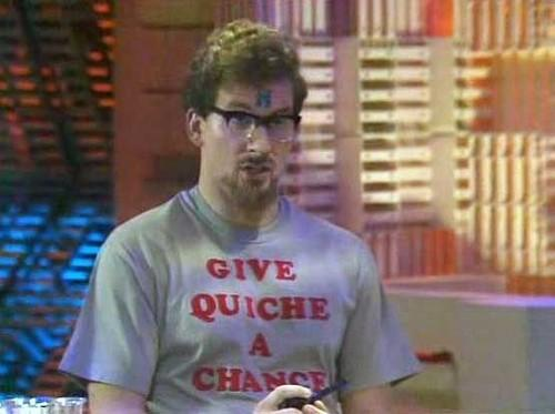 Give quiche a chance - Red Dwarf