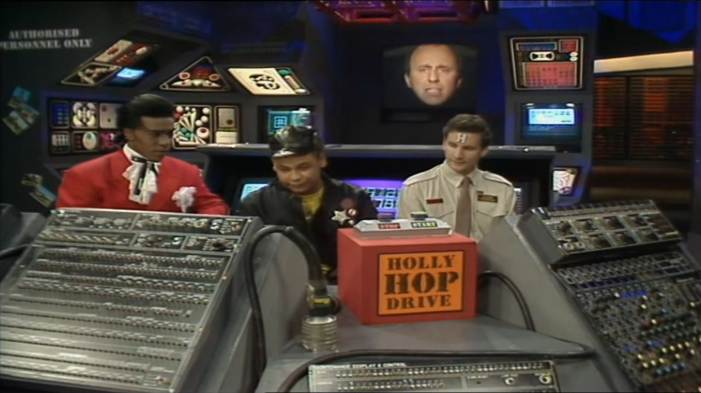 The Holly Hop Drive from Red Dwarf Parallel Universe