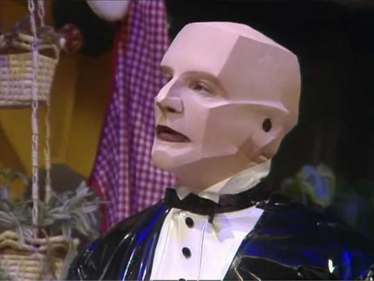 The original Kryten from Red Dwarf Series 2
