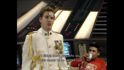 Rimmer and the art of dining - Red Dwarf Quotes