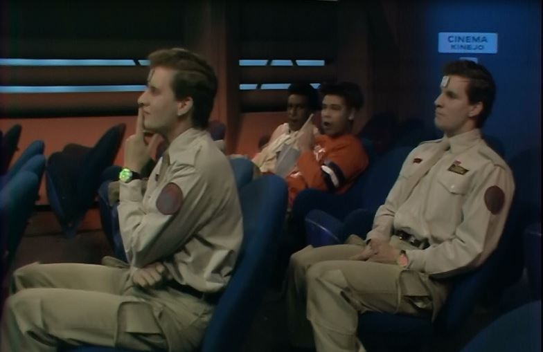 Two Rimmers in Red Dwarf Me2