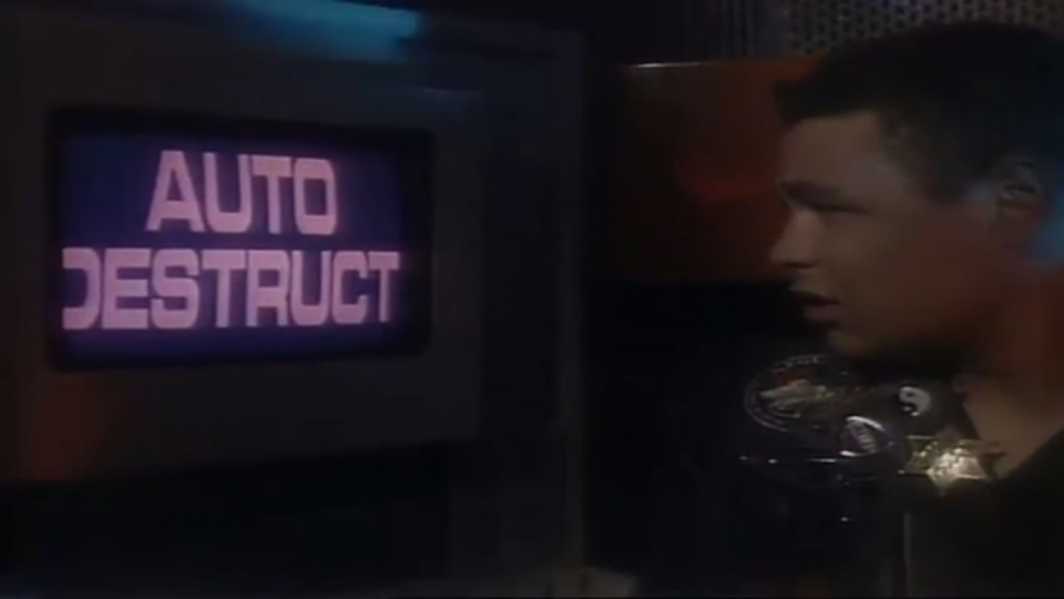 Auto destruct from Body Swap Red Dwarf