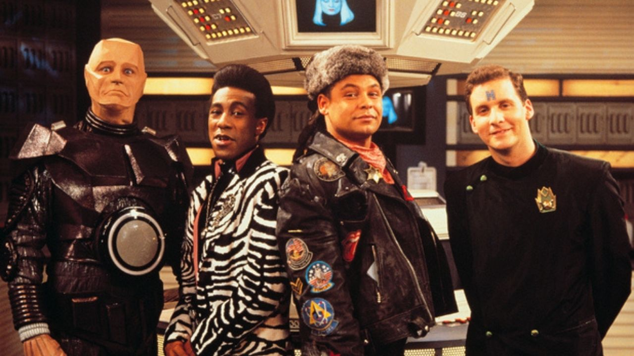 The Red Dwarf Crew - Classic British Comedy
