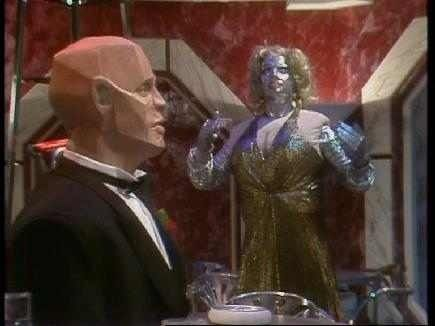 Marilyn Monroe droid in Red Dwarf