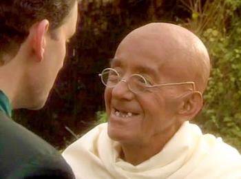 Don't eyeball me Gandhi