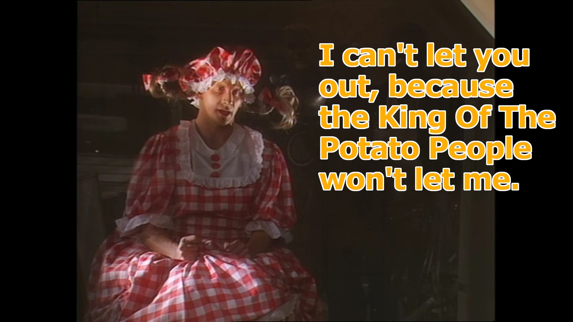 Red Dwarf King of the Potato People