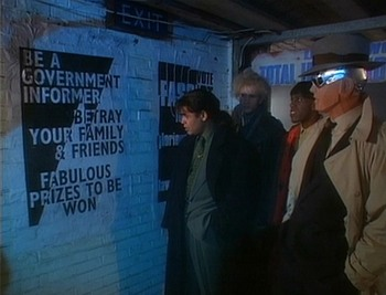 Red Dwarf - Be a government informer