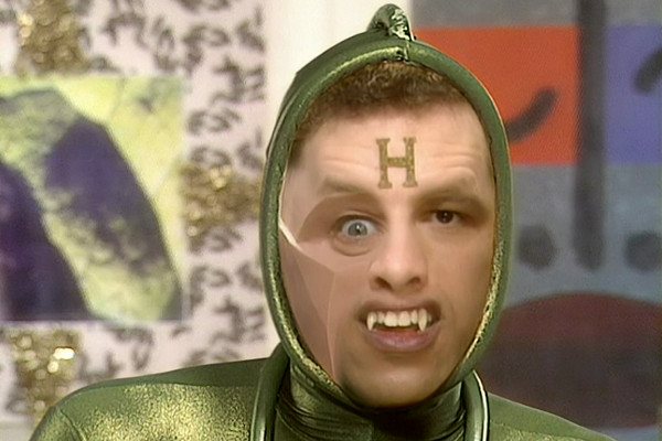Legion's face morphing in Red Dwarf