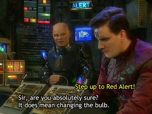 Red Dwarf - Stepping up to Red Alert