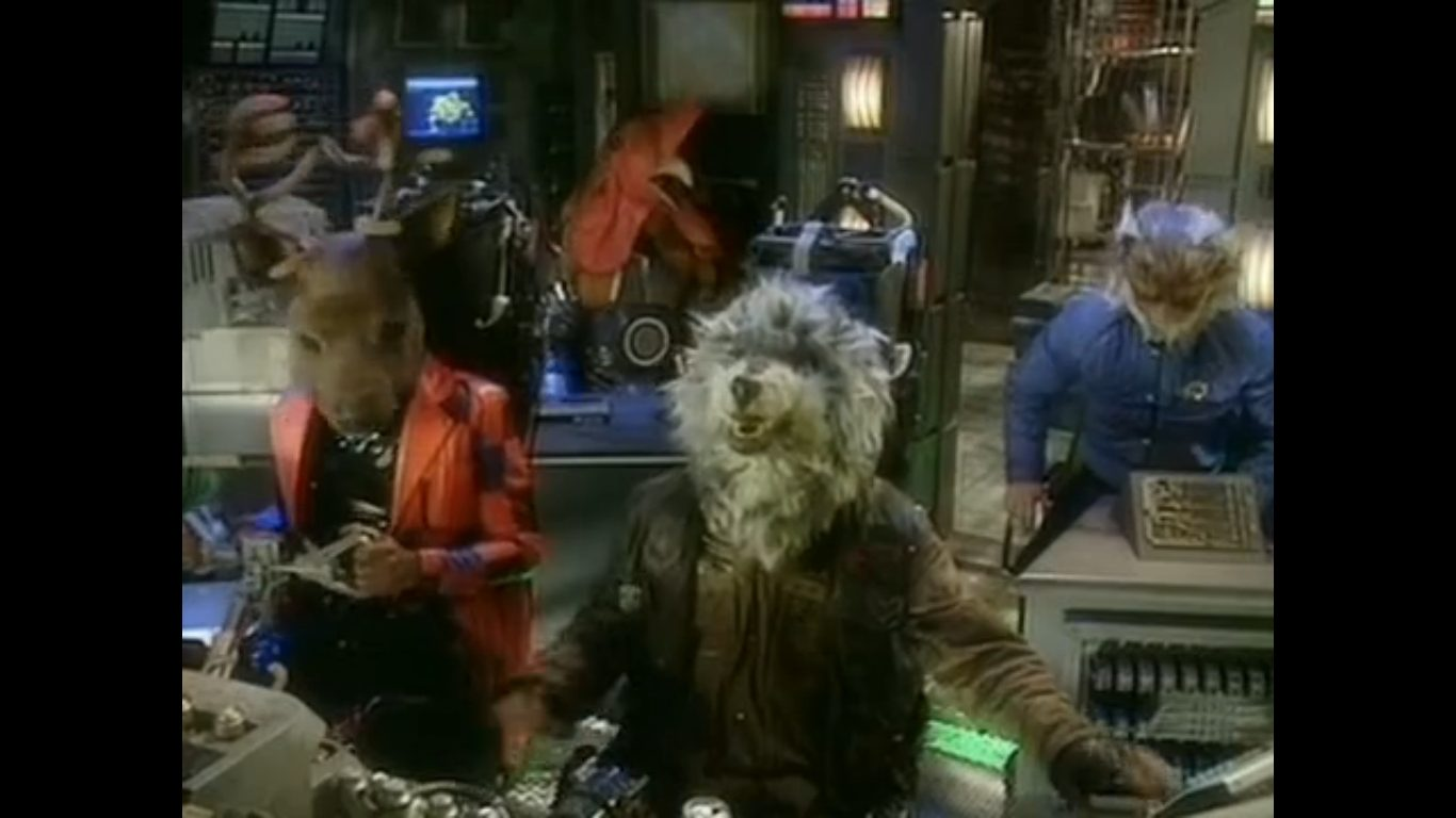 The Red Dwarf crew enter the Mindfield